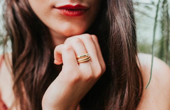 Fairtrade Verlobungsringe, Verlobungsring, Gelbgoldring, Ansteckring, Zusteckring, grüngold, Brillantring, 0,1ct Brillantring, Verlobungsring, Trauring,
