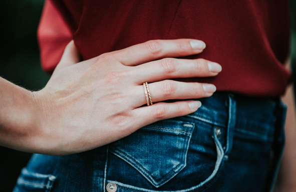 Fairtrade Verlobungsringe, Verlobungsring, Weißgoldring, Ansteckring, Zusteckring, Memoirering,grüngold,