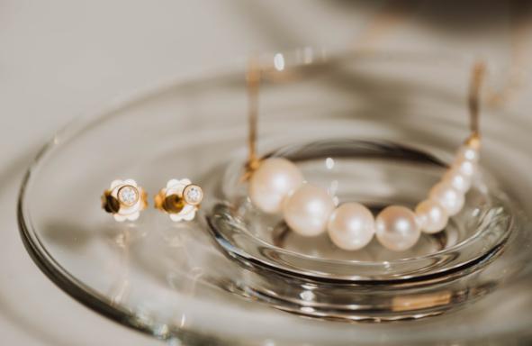 Perlenkette Schaum der Tage sarahmia